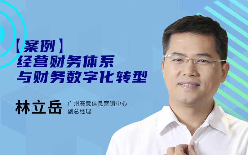 林立岳-广州赛意-【案例】经营财务体系与财务数字化转型