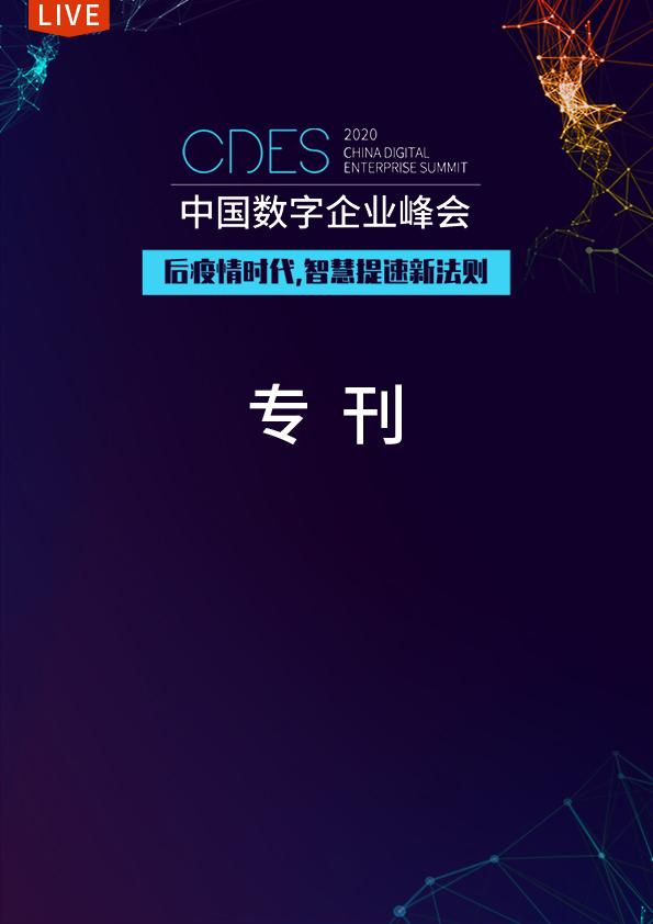 中国数字企业峰会专刊
