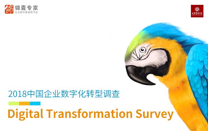 2018中国企业数字化转型调查