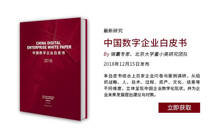 最新研究:2018中国数字企业白皮书