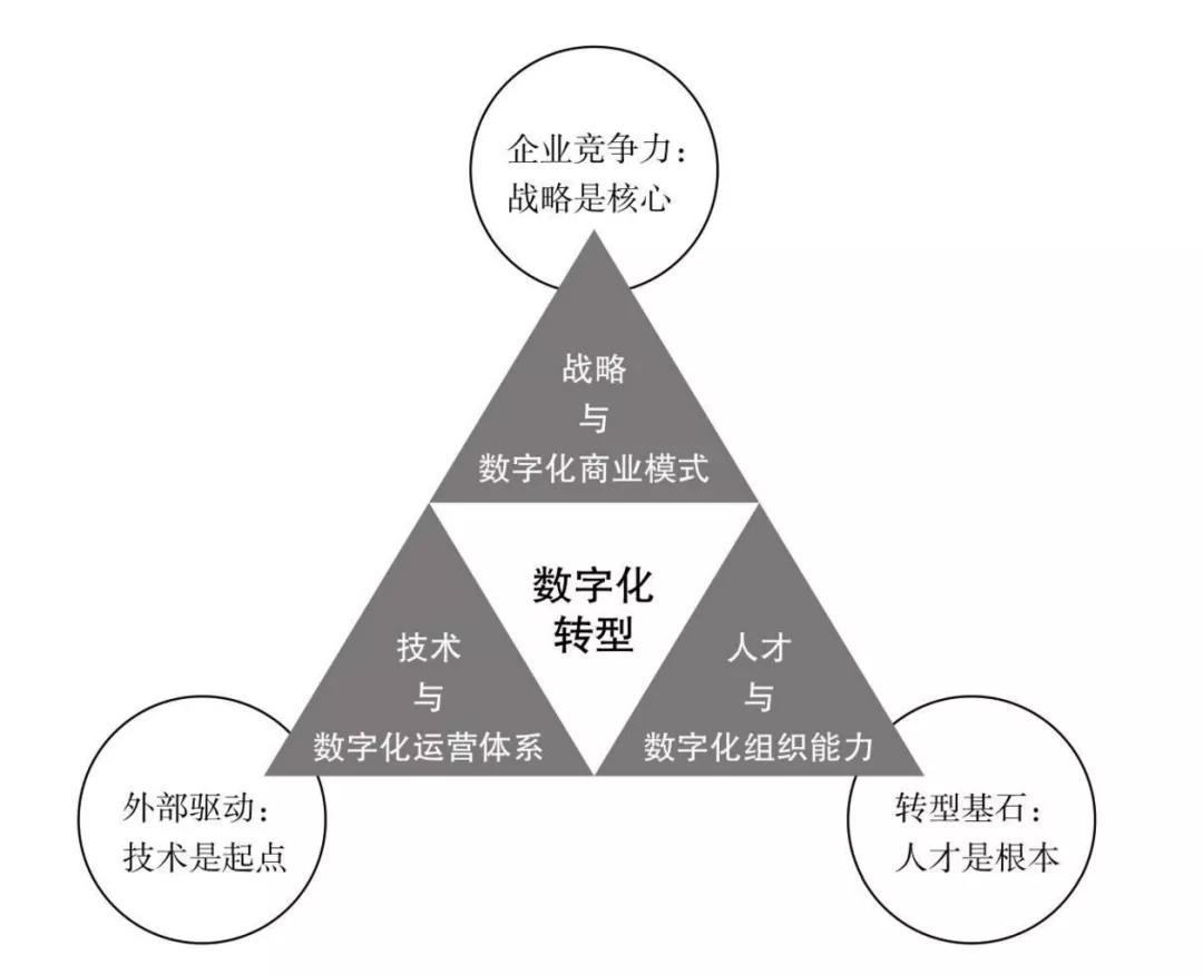 """数字化转型的""""黄金""""铁三角"""