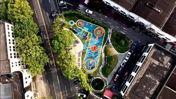 助力城市数字化转型 国内首个园区AI社区运动公园落户嘉定