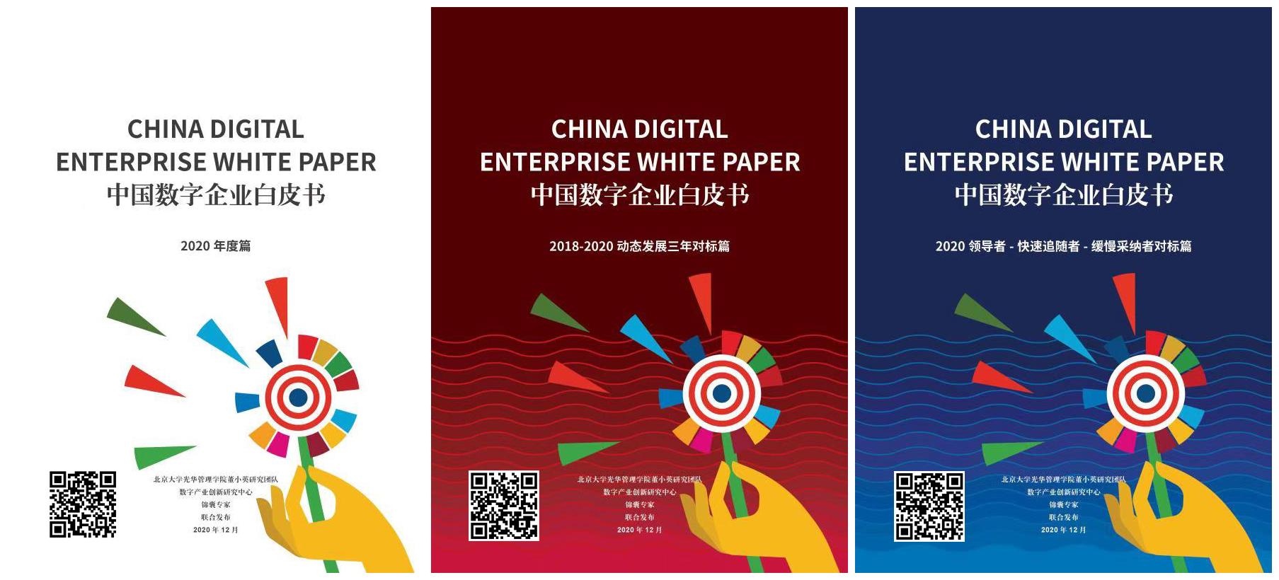 数字产业创新研究中心发布:2020中国数字企业白皮书领导者-快速追随者-缓慢采纳者对标篇