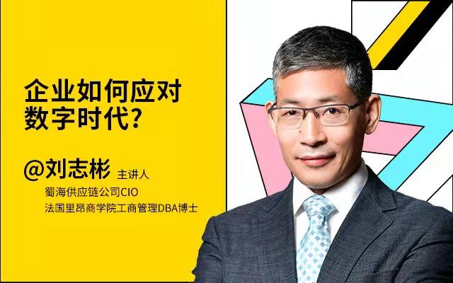 蜀海供应链 刘志彬 - 企业如何应对数字时代?